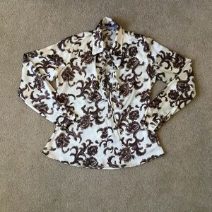 Tops - Silk blouse. Size 6.